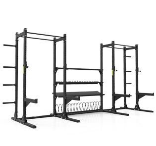 Half Racks with Annex Storage