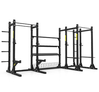 Power Rack with Annex Storage