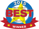 2015 Best of Milpitas Honor Award