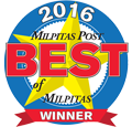 2016 Best of Milpitas Honor Award