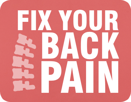 Fix Your Back Pain button